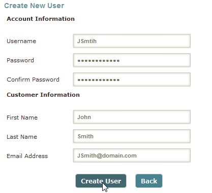 Logins and Email Address