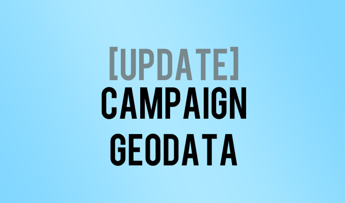 Campaign Geodata