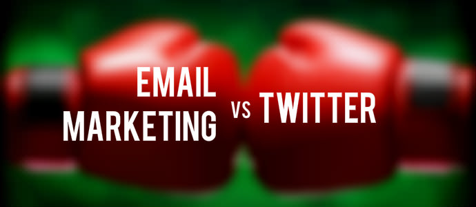 Email Marketing vs Twitter