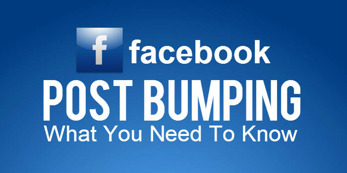 Facebook Post Bumping