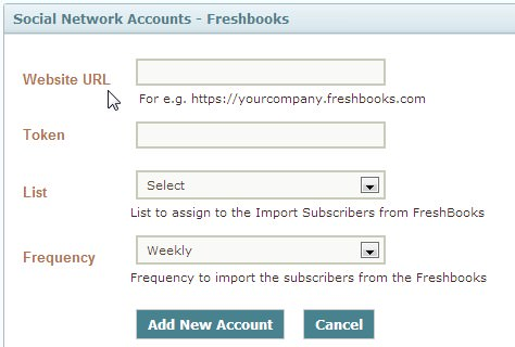 Freshbooks Importer Page