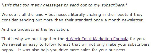 Pretty Plain Text Email Example
