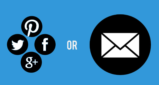 Social or Email - which is more effective