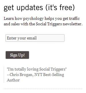 Social Triggers Sidebar