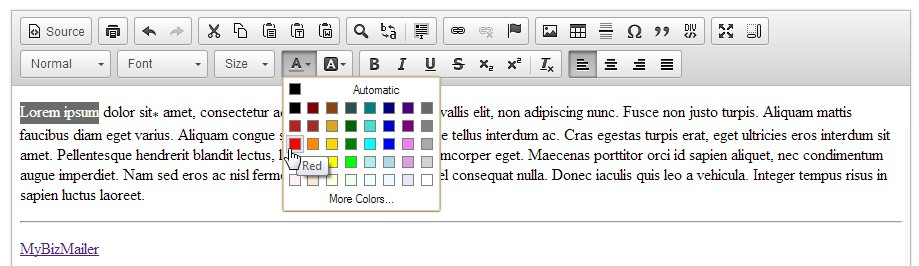 How to change your font color